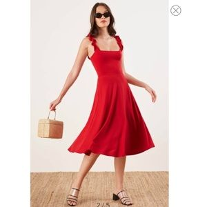 MAKE OFFERS Eda Ruffle Strap Dress